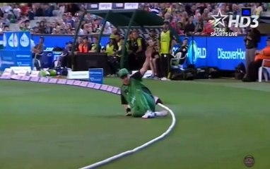 watch Extreme Funny Hindi Commentary in Big Bash League When a Fielder did Exceptional Fielding