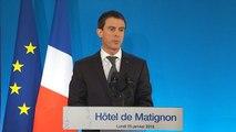 """Manuel Valls : """"Donner plus de manœuvres aux accords d'entreprise"""""""