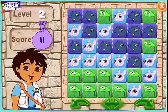Diego piramide jeux video Dora l\'Exploratrice episode games Girls Games for kids videos wOWKrb