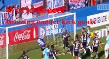Top 10 Direct Corner Kick Goals in Football (Soccer) Best Corner Goals