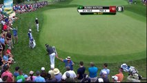 Bubba Watson Gets Up, Down, Down, and Down 2015 Barclays PGA Tour