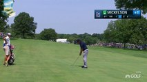 Phil Mickelsons Ultra Smooth Golf Swing at 2015 Barclays PGA Tour