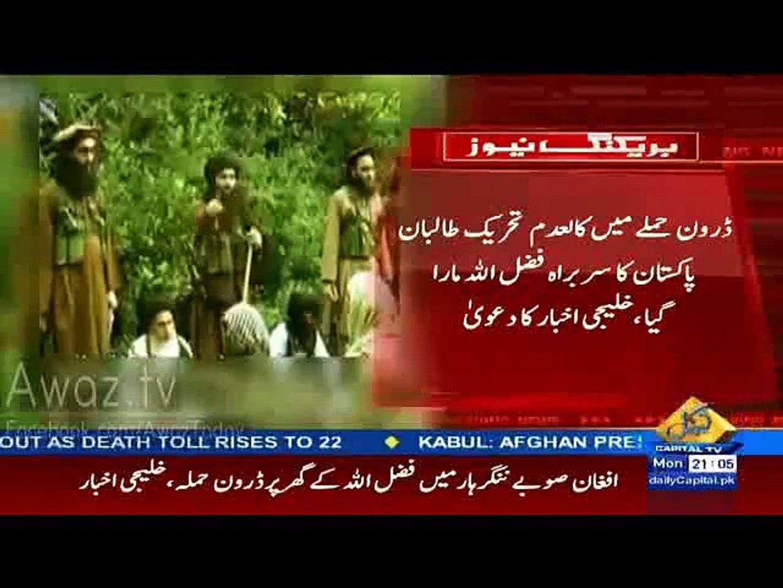 Pakistan Taliban Leader Mullah Fazullah Killed In Air Strike