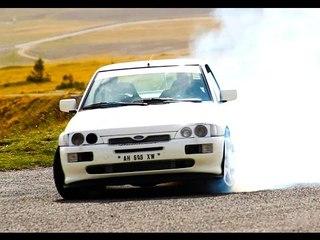 Ford Escort Cosworth 600cv - Davide Cironi drive experience (ENG.SUBS)