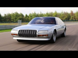 Mauro Forghieri e la Ferrari Pinin - Davide Cironi drive experience (ENG.SUBS)