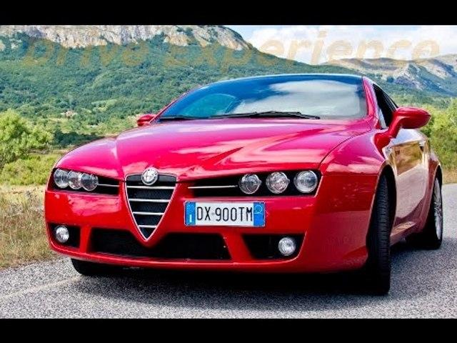 Alfa Romeo Brera 1750 Tbi - Davide Cironi drive experience (ENG.SUBS)