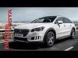 Peugeot 508 RXH HYbrid4 - Marco Fasoli prova - Ruote in Pista n. 2307 - 24-10-2015