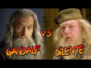 GANDALF vs SILENTE #CineFight