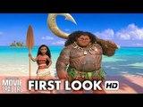 MOANA First Look ft. Dwayne Johnson, Auli'i Cravalho [HD]