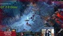 Imaqtpie vs hi im gosu (League of Legends 1v1)