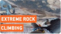 Rock Climber Loses Grip   Red Rock