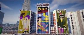 GTA 5 World Map Recreated in Minecraft! (GTA 5 in Minecraft)2016 Mod