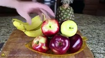 How to Make a Duck From an Apple || Edible Apple Swan || Fruit Art