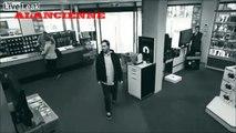 un voleur trop fort drole funny video ..comment voler une tv écran plat