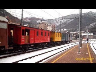 Manovre e Soste Locomotiva a Vapore 200-05 - Maneuvres & Stops of Steam Locomotive 200-05 - 2/3