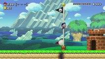 Super Mario Maker - 100 Mario Challenge 0-015 Easy - Quest for Amiibo Kart Mario Reward