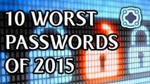Top 10 Worst Passwords From 2015