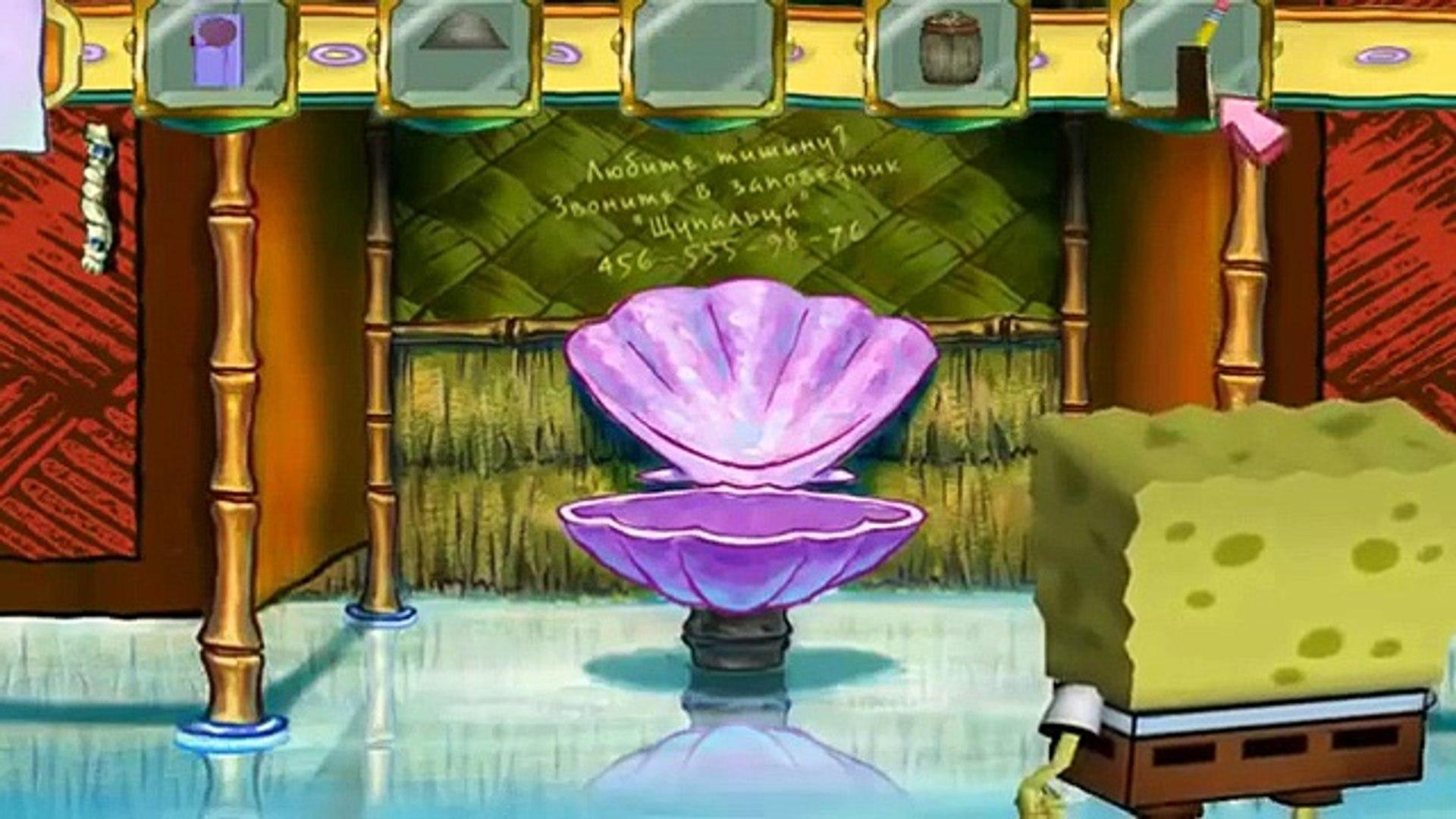 Spongebob Squarepants Губка Боб Квадратные Штаны # 17 HD 2015