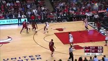 Dwyane Wade Turns Back the Clock - Heat vs Bulls - January 25, 2016 - NBA 2015-16 Season