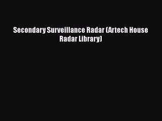 Secondary Surveillance Radar Resource | Learn About, Share