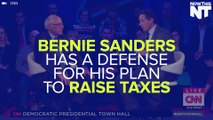 Bernie Sanders Will Raise Your Taxes, But Save You Money Elsewhere