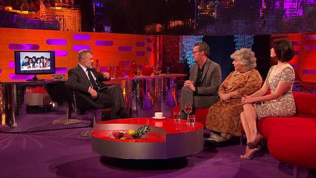 Matthew Perry Says The Friends Reunion Isnt Happening - The Graham Norton Show