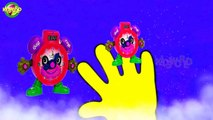Finger Family Toon Clock Cartoon Nursery Rhyme For Kids   Baby Songs   Kids World  