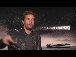 Interstellar -  Matthew McConaughey interview (London, European Première)