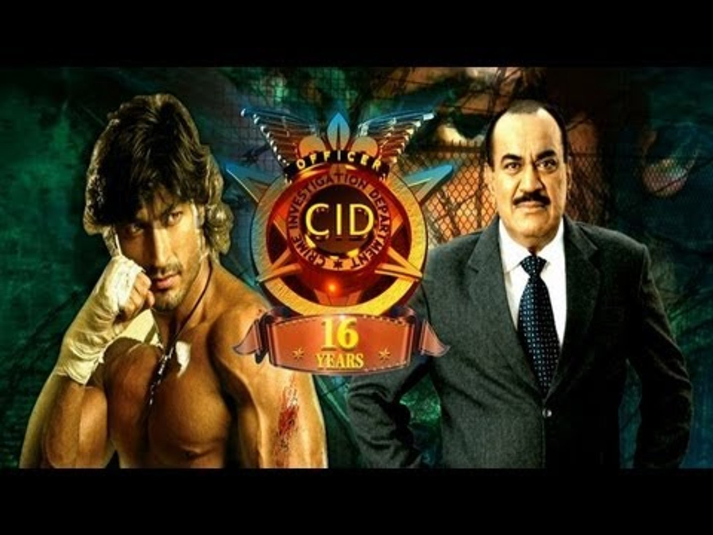 Vidyut Jamwal On Set Of CID For Promotion Of Movie ''Commando''
