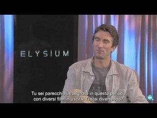 Elysium - Intervista a Sharlto Copley | HD
