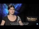 Percy Jackson - Sea of Monsters - Intervista a Alexandra Daddario | HD