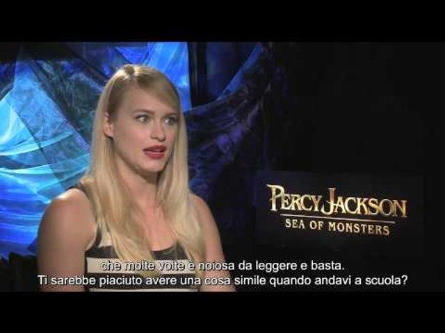 Percy Jackson - Sea of Monsters - Intervista a Leven Rambin | HD