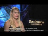 Percy Jackson - Sea of Monsters - Intervista a Leven Rambin | HD