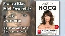 Virginie Hocq invitée de Daniela Lumbroso - France Bleu Midi Ensemble