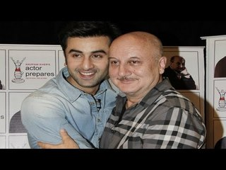 Anupam Kher in conversation with Ranbir Kapoor at Actor Prepares