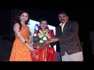 Urmila Matondkar Felicitated At The Worli Festival 2013