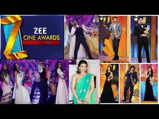 Zee Cine Awards 2013 With Bollywood Star