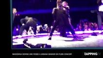 Madonna maltraite Ariana Grande sur scène, les images chocs (vidéo)