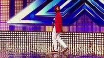 Sheyi Omatayos audition Louis Armstrongs Wonderful World The X Factor UK 2012