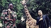 2 Chainz amp French Montana Feed a 40K Giraffe Most Expensivest Shit
