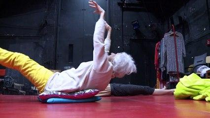 90-jährige Holocaust-Überlebende auf Berliner Tanzbühne