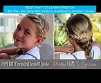 How To Pancake French Braid Updo Pretty Hair is Fun French Grammar Lessons