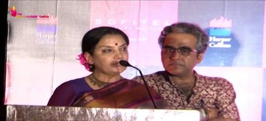 Shabana Azmi   Mahesh Bhatt   Condemn Attack On Sudheendra Kulkarni