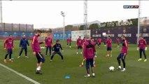 Barcelona prepare for Copa del Rey match against Athletic Club de Bilbao