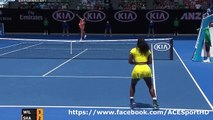 Maria Sharapova vs Serena Williams 2016-01-26 quarter final tennis highlights HD720p50 by ACE