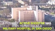 Active Shooter At Naval Medical Hospital In California