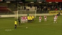 Aux Pays-Bas, l'équipe du NAC Breda s'offre une combinaison bien ratée sur coup franc