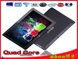 2014 Newest 10.1 Tablet PC Windows 7 tablet laptop support HDMI Quad core 3G WiFi Bluetooth windows tablet pc-in Tablet PCs from Computer