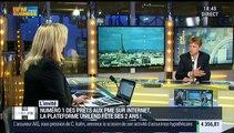 Nicolas Lesur presente Unilend, sa plateforme de prêts aux PME sur Internet - 26/01