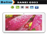 Sanei G903 Tablet PC Allwinner A23 Dual Core Dual SIM 2G Calling 512M 8GB 1024x600 Student Mini PC-in Tablet PCs from Computer